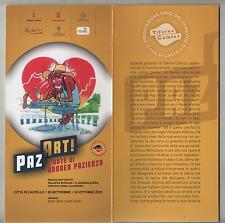 brochure PAZ ART l'arte di ANDREA PAZIENZA tiferno comics 2013 città di castello