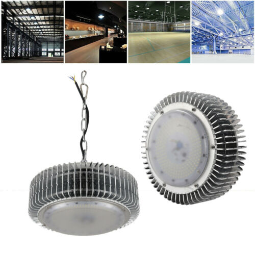 100W LED High low Bay Light Factory Commercial Warehouse Lighting Shed Fixture
