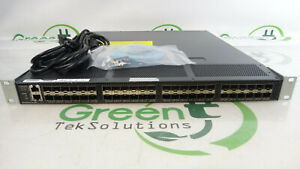 Cisco-DS-C9148-16P-K9-48-Port-8Gbps-Active-2-4-8GIG-FC-MDS-Fibre-Switch-2x-PSU