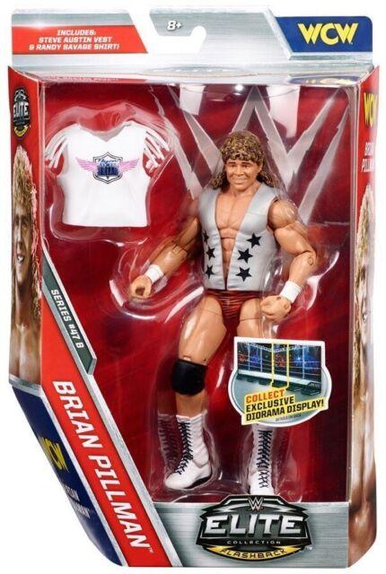 WWE Mattel Elite Collection 47B Brian Pillman Wrestling Figure