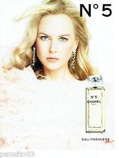 PUBLICITE ADVERTISING 046  2008  Chanel n°5 Eau première & Nicole Kidman