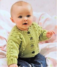 95594a0d0 James C. Brett Supreme Baby Sweater Slipover and Hat Patterns Jb205 ...