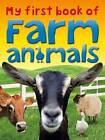 My First Book of Farm Animals by TickTock, Miranda Smith (Paperback, 2013)