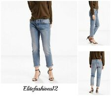 Levi's Womens 501CT Boyfriend Jeans,Size 25 x 32, Island Azure Style # 178040068