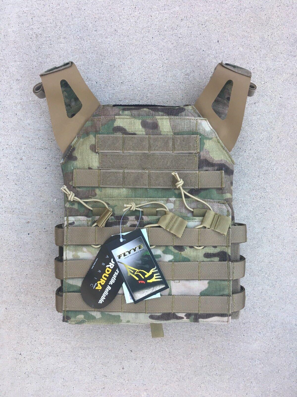 FLYYE JPC Swift Plate Carrier Vest 1000D Cordura  - Multicam - Size L