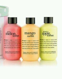Philosophy Hooray For Sorbet Gift Set Shower Gel Shampoo