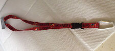 Officially Liscensed Guinness Lanyard - Red with Black Lettering