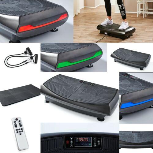 4D Vibrationsplatte Shape Vibro Heimtrainer Fitness Ganzkörper Led FB Expander