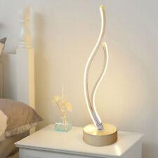 Albrillo Lampada Da Tavolo A Spirale Moderna Lampada Da Letto A Led Per Lo Ebay
