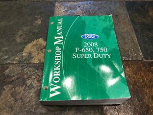 2008 Ford F-650 F-750 Truck Service Shop Repair Manual | eBay