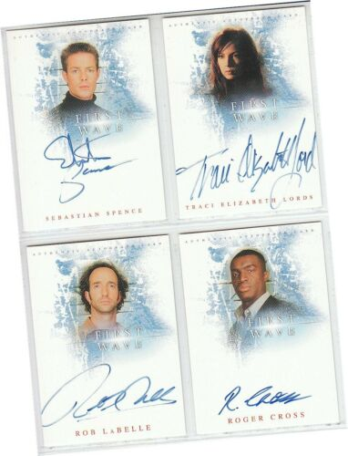 C Set of 4 Auto//Autograph Cards Traci Lords A1 A2 A3 A4 First Wave Premiere