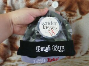 CLOSEOUT-SALE-Imported-FROM-USA-Tender-Kisses-2-Pc-Bonnet-Tough-amp-Little-1