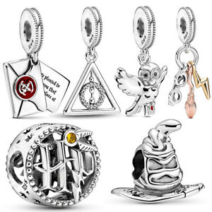 Details about 2020 Pandora New Harry Potter Collection Charm 925 Sterling  Silver Charm