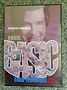 Richard-Kaufman-Basic-Card-Technique-DVD-Card-Magic-Slight-Of-Hand
