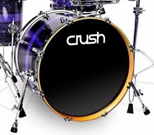 "Crush Drums Sublime Maple ST 10/"" Dia X 7/"" Mounted Tom//Blue Sparkle Stripe//# 620"