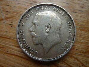 1913 Silver.925 Half Crown George V (ref48G)