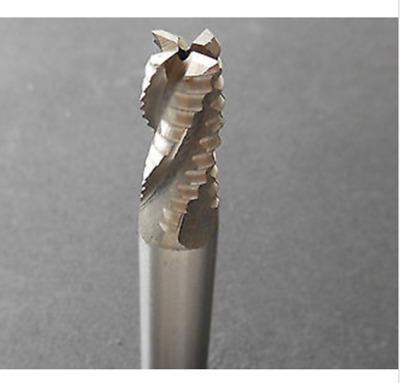 10pcs 4mm 4 Four Flute HSS Aluminium End Mill Cutter CNC Bit
