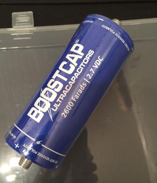 2.7V 2600F Maxwell BCAP 2600 Ultracapacitor Boost Cap