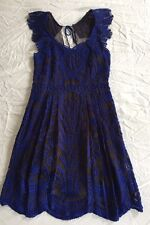ANTHROPOLOGIE, YOANA BARASCHI Lace Dress - Size 8