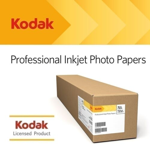 "BMGKPRO17M 17/"" x 100/' Matte Kodak Professional Inkjet Photo Paper Roll"