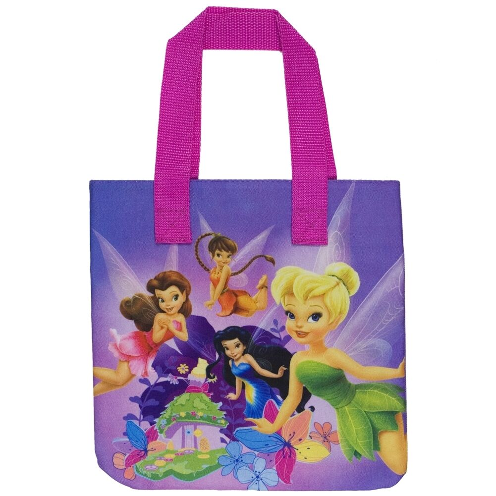 TINKERBELL TRILLI Disney Fairies Small Tote Bag NUOVO