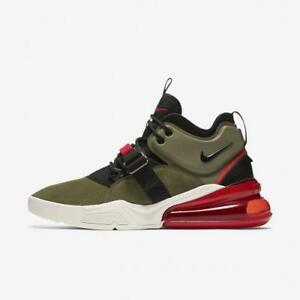 NIKE AIR FORCE 270 AH6772 200 MEDIUM OLIVE GREENBLACK