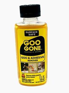Goo Gone 2oz Bottle - Grease Oil Gum Cleaner Tape Tar, Adhesive Residue Remover
