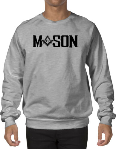 Mason Black design Freemason Crewneck Sweatshirt
