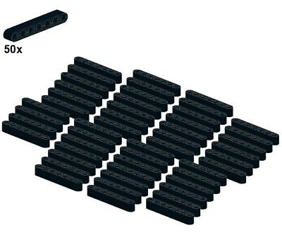 Black LEGO® Schwarz 1x5 G 32316-04 50Stk Technic Liftarms - Balken