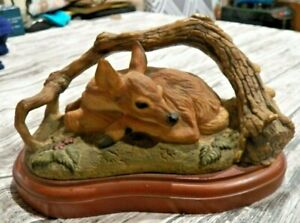 Beautiful Mill Creek Studios Sculpture #42030 Day Dream Deer Doe Fawn