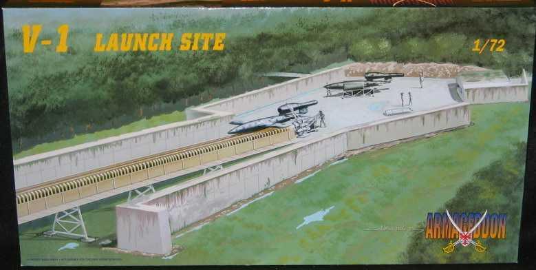 Mach 2 Modeller 1 72 V-1 LAUNCH SITE Tyska WWII Buzz Bomb