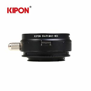 Kipon-Shift-Adapter-for-M42-Screw-Lens-to-Sony-E-Mount-Camera