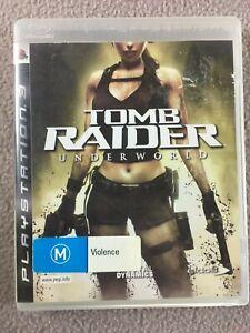 tomb raider underworld ps3 controls