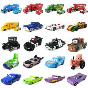 Detalles de Disney Pixar Cars 2 Lightning McQueen Mack Uncle Truck King Chick Hicks Juguete Regalo ver título original