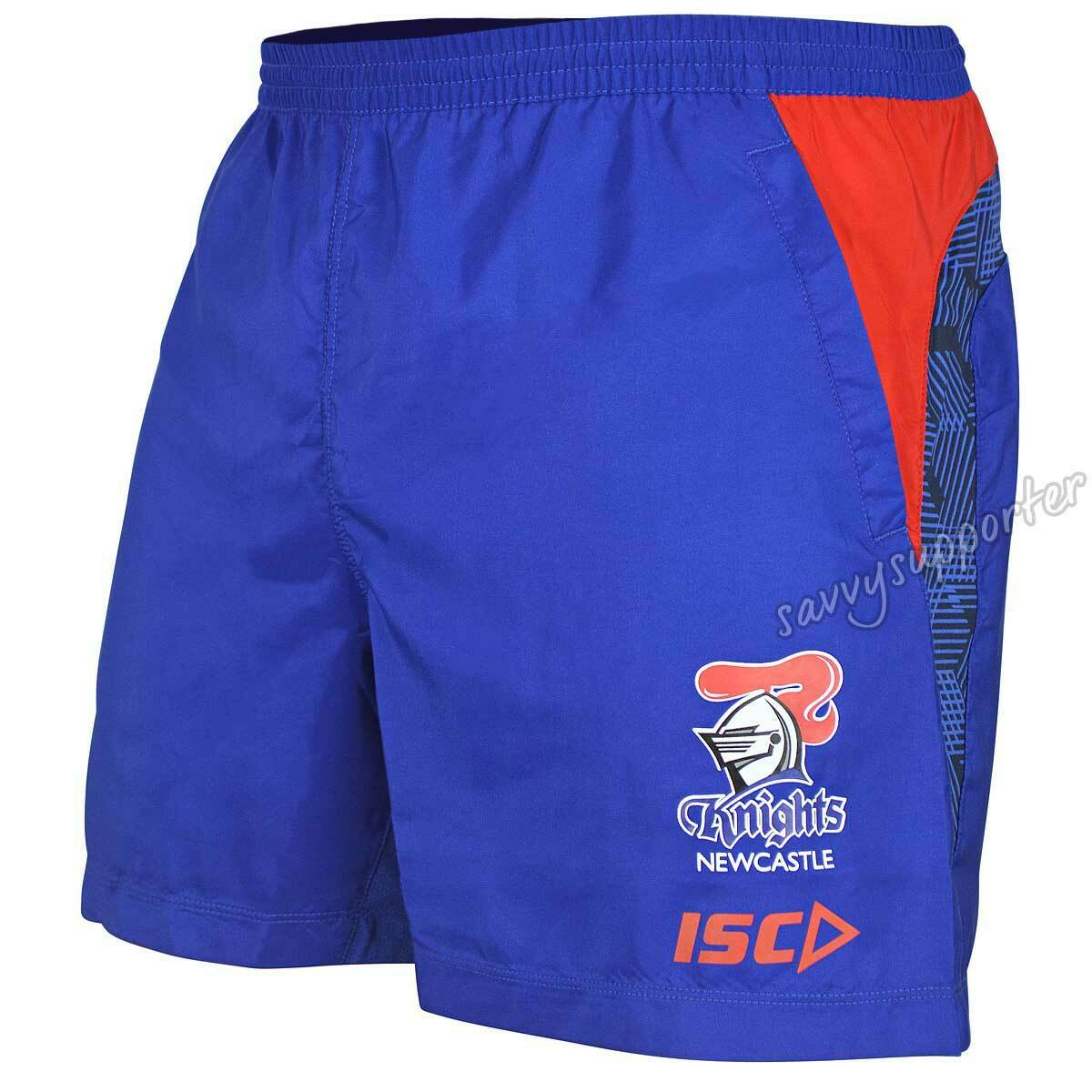 Newcastle Knights 2019 NRL Mens Training Shorts Sizes S-5XL BNWT