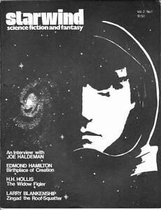 STARWIND Autumn 1976 - Sci-Fi fanzine - Edmond Hamilton Captain Future reprint