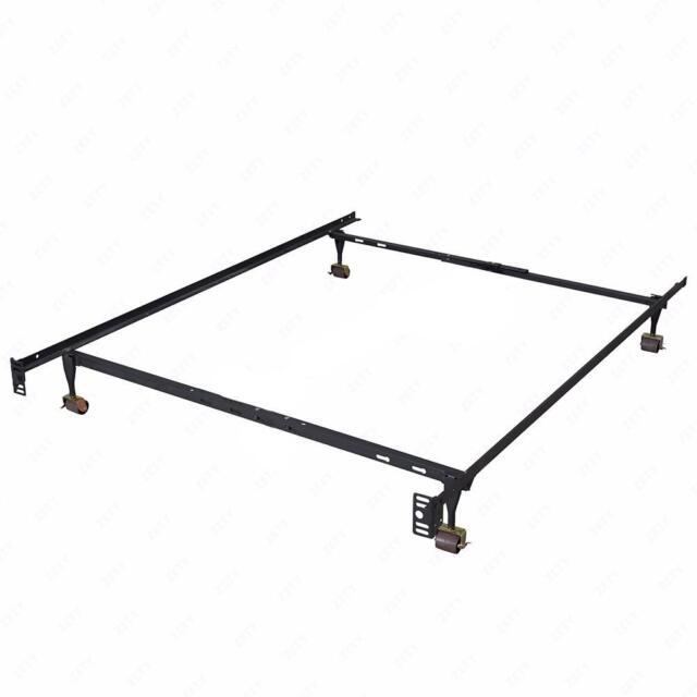 New Heavy Duty Metal Bed Frame Adjule Queen Full Twin Size Platform T70