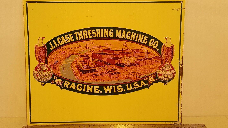 Case Metal Sign farm collectible