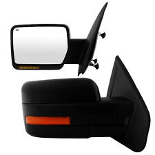 For 07-14 Ford F150 View Mirror Power Heated Turn Signal Puddle Lights Reflector