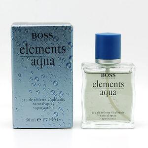 60% Freigabe Freiraum suchen neue Stile Details about Boss Elements Aqua by Hugo Boss 1.7 fl.oz / 50 ml Eau De  Toilette Spray for Men