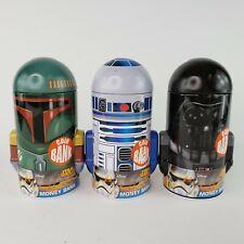 Star Wars Head Shaped Coin Bank Darth Vader Tin Metal Box New Toys 348007-2