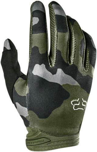 Fox Racing Youth Dirtpaw Przm Camo Gloves Camo Full Finger Youth Large