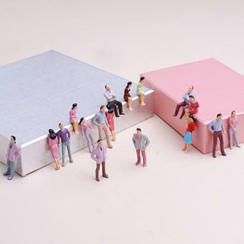 100 1:50 Model People Trains O Scale Painted Figures