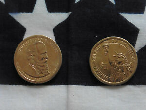 Us Münze 1 Dollar Geld Money Präsident R Hayes President Gold Deko