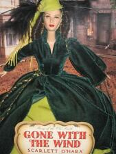 2001 Gone With The Wind Scarlett O'Hara VIVIEN LEIGH Barbie Drapery Dress 29771