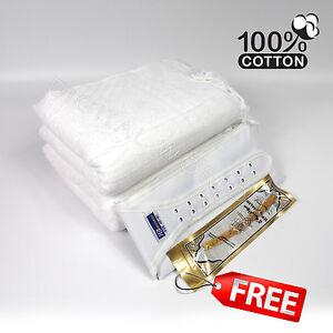 2-Piece-Cotton-Ihram-Ehram-Ahram-White-Towel-Adult-Cloth-Waist-Belt-Hajj-Umrah