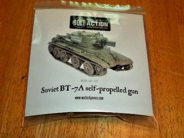 Soviet BT-7A Self-propelled Gun Bolt Action WWII Model New