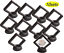 miniature 12 - Coin Display Stand - Set of 10 3D Floating Frame Display Holder with Stands for