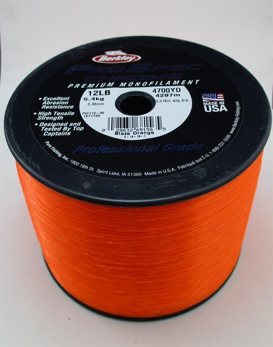 Berkley 1371739 Ps112-bo Prospec Chrom Line 12 Lbtest Orange 4298m 22178    Kunde zuerst