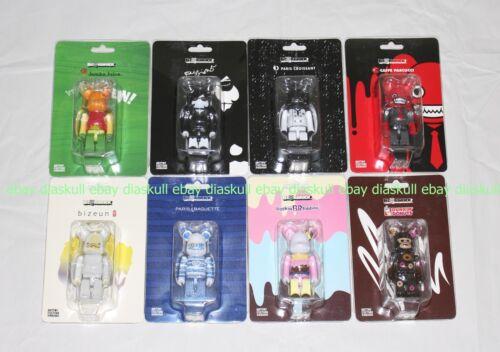 Medicom Bearbrick 100/% SPC Bearbrick Kinki Robot Korea Exclusive set of 8